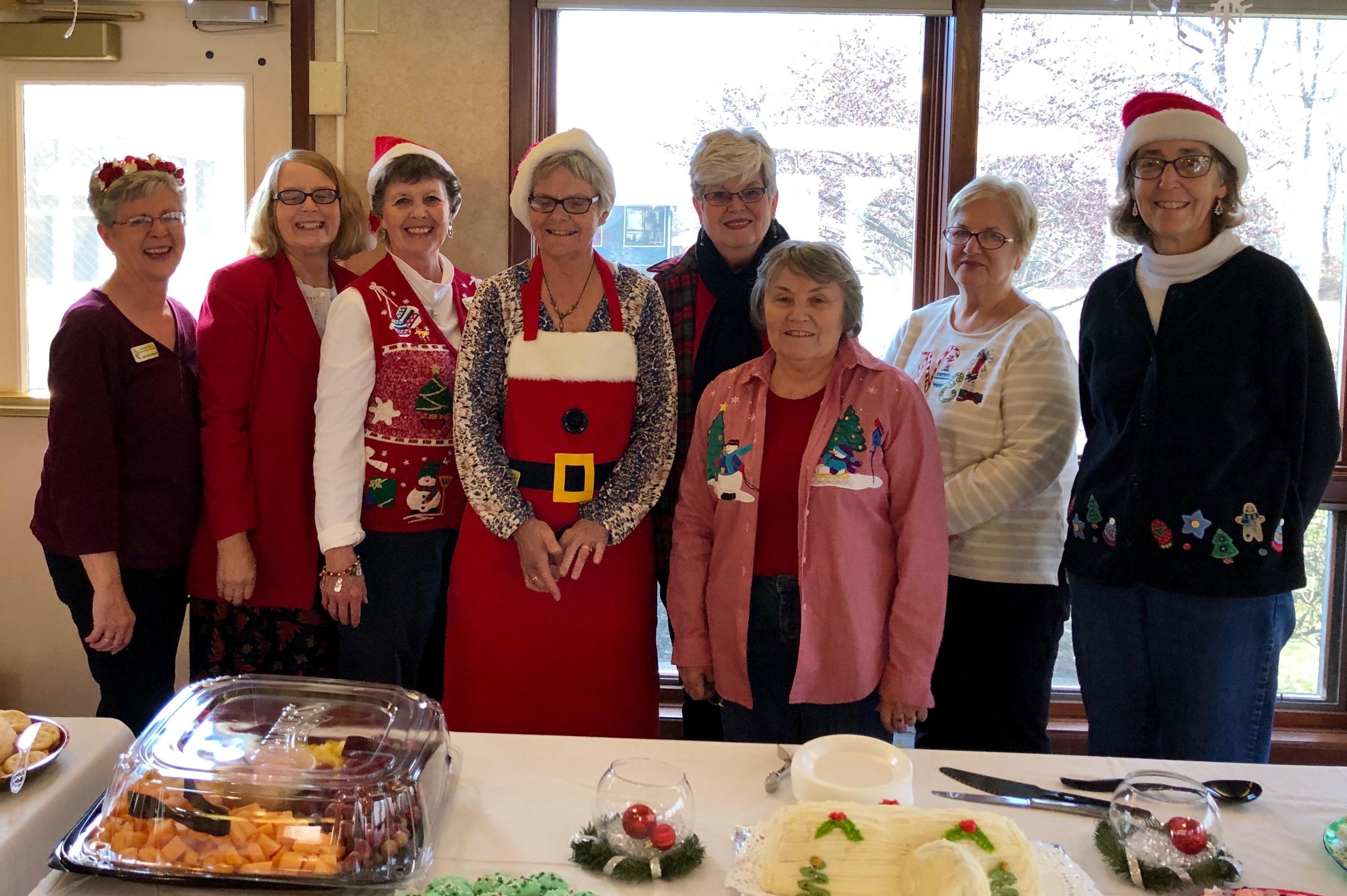 Volunteers Group at Garden Villa Reception
