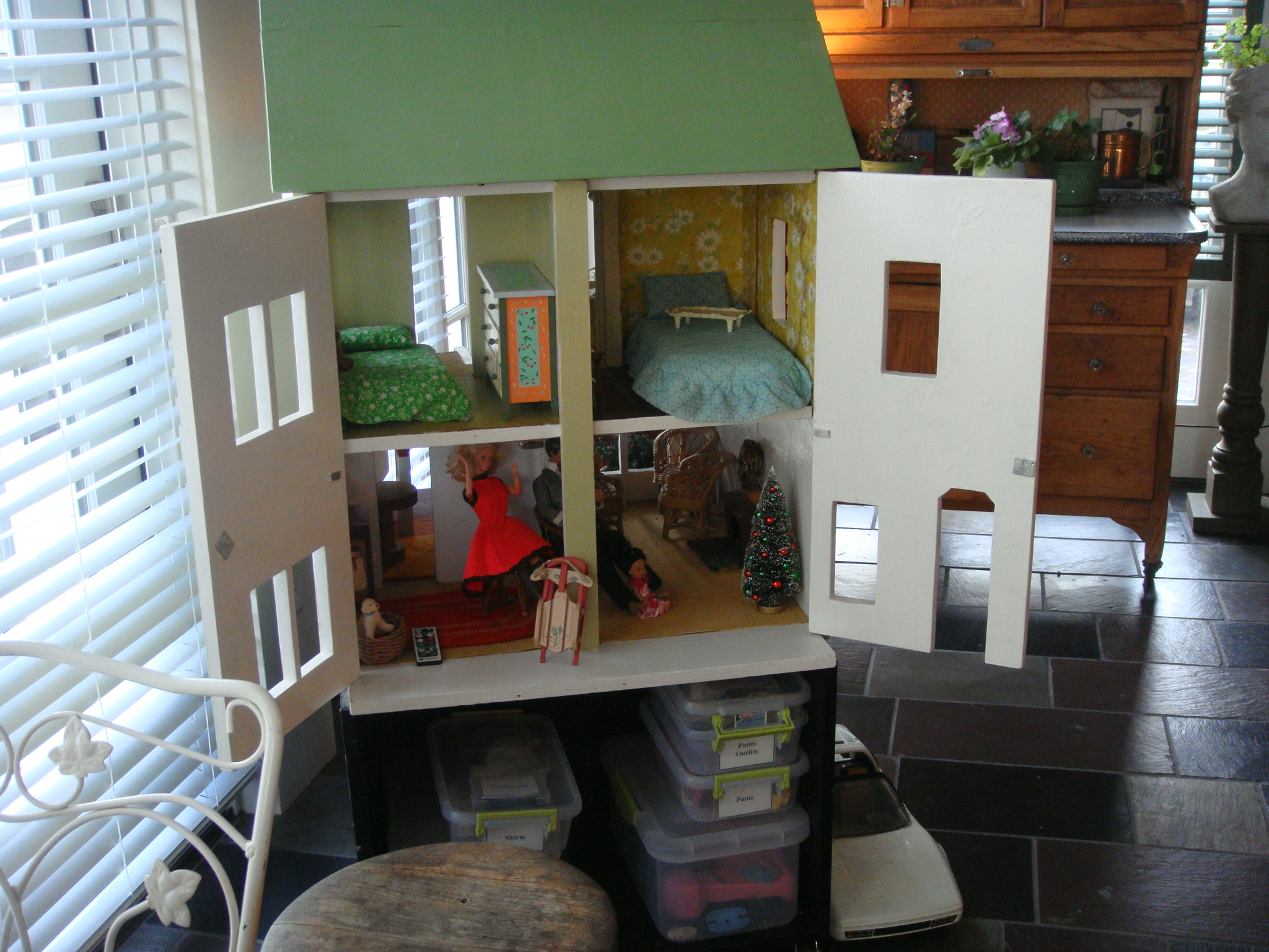 Dollhouse in the Buher's home