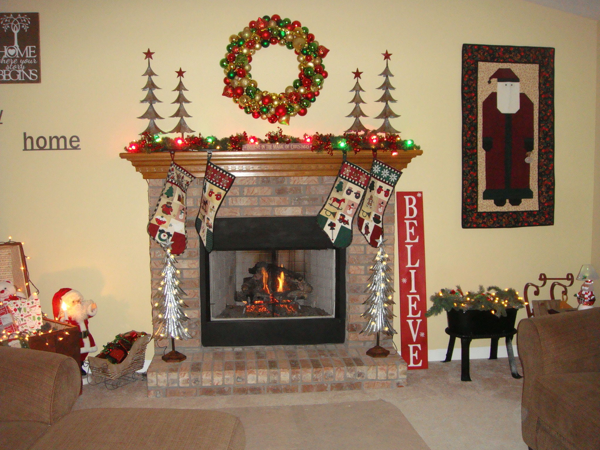 Gillespie Home Mantel