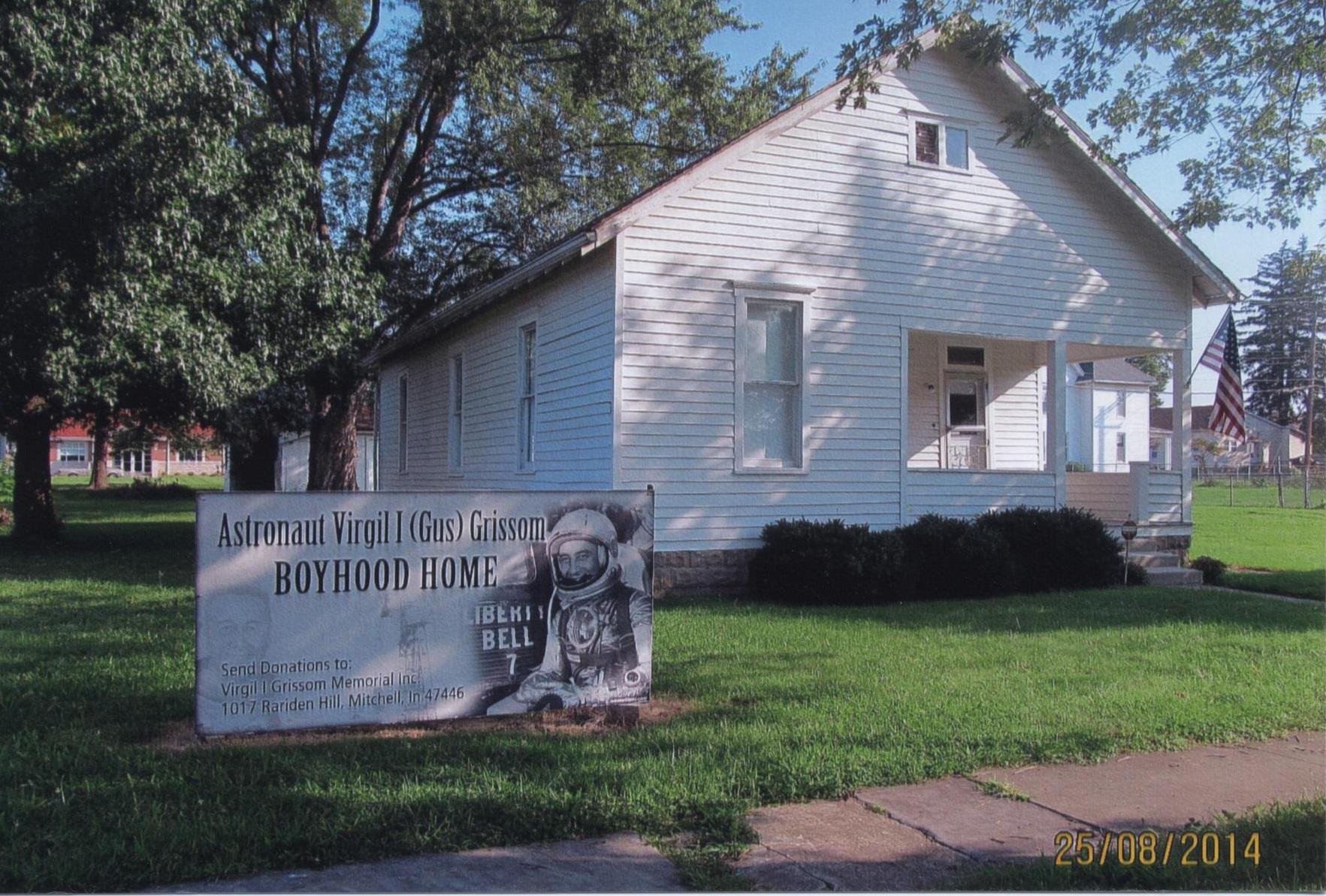 Gus Grissom Boyhood Home