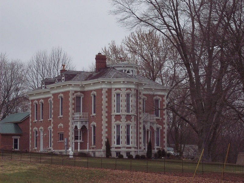 Tunnellton Mansion.