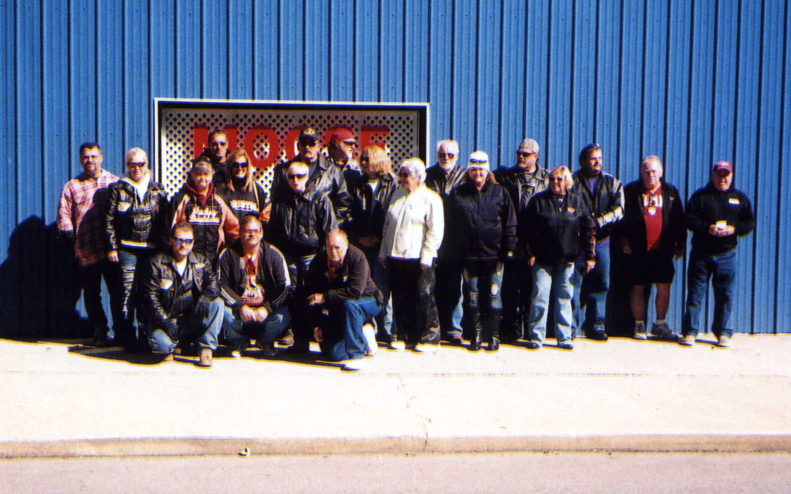Picture of all the participants in the 2012 rally.